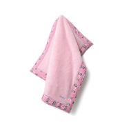 Baby Star Poodle Blanket - Hopscotch Pink