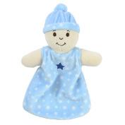 BabyShop Security Blanket - Light Blue