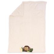 Kids Line Jungle 1-2-3 Boa Blanket