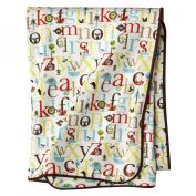 Skip Hop Alphabet Zoo Supersoft Reversible Blanket