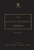 The Academy of Management Annals, Volume 5