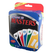 UNO Phase 10 Masters Edition Card Game