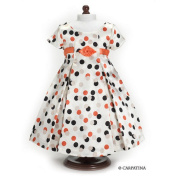 Carpatina Vintage Polka Dot Dress fits 18'' American Girl Dolls