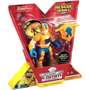 Fisher-Price Hero World Rescue Heroes Voice Comm Jack Hammer Figure