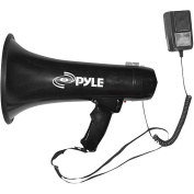 Pyle 40W Professional Megaphone/Bullhorn with Siren and 3.5mm Auxiliary Input
