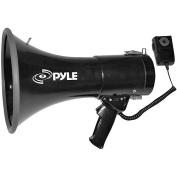 Pyle 50W Professional Piezo Dynamic Megaphone with 3.5mm Auxiliary Input