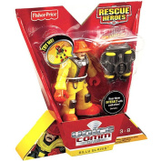 Fisher-Price Hero World Rescue Heroes Voice Comm Billy Blazes Figure