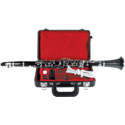 Mirage HU2002 Bb Clarinet with Case, Ebonite Finish