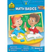 School Zone Publishing Math Basics 2 Deluxe Workbook