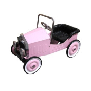 Dexton Kids Voiture Classic Pedal Car in Pink