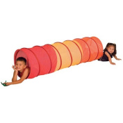 Pacific Play Tents 20517 Institutional 2.7m See Through Tunnel - Red