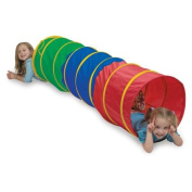 Pacific Play Tents Kids 1.8m Find Me Crawl Tunnel, Green, Blue, & Red