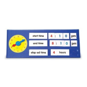 Learning Resources Time Tabletop Pocket Chart