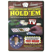 Trademark Poker More Secrets of No Limit Hold'Em DVD with Howard Lederer, Multi-Colour