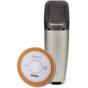 Samson C03UCW USB Condenser Microphone with Cakewalk Sonar LE