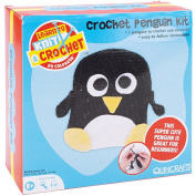 Quincrafts Learn to Crochet Kit, Penguin
