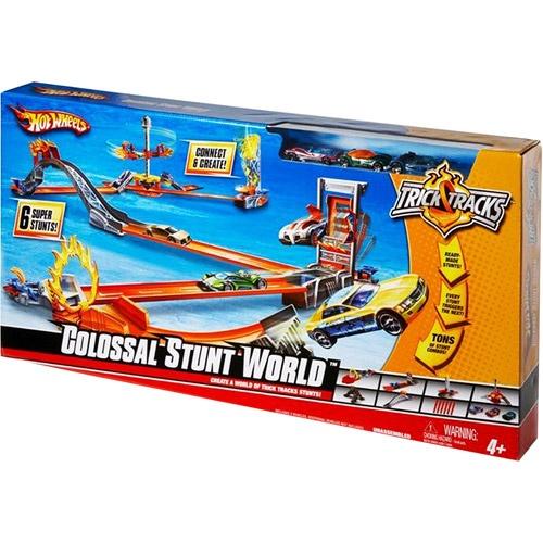 Hot Wheels Trick Tracks Colossal Stunt World Track Set