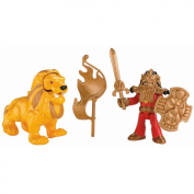 Fisher-Price Imaginext Castle Basic - Good Knight and Lion