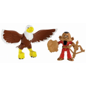 Fisher-Price Imaginext Castle Basic - Good Knight and Eagle