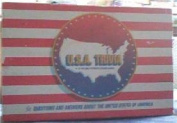 U.S.A Trivia A Fun And Patriotic Board Game