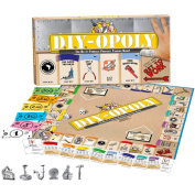 DO IT YOURSELF-OPOLY Monopoly Style Board Game