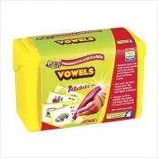 Hot Dots Phonics Flash Cards; Set 3 - Vowels; no. EI-2782