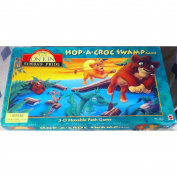 Lion King Simba's Pride Hop-A-Croc Swamp Game