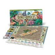Dino-Opoly Board Game with Prehistoric Twists - 2 to 6 Players