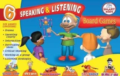 Speaking & Listening 6 Board Games