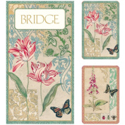 Caspari Bridge Gift Set - Jumbo Typeface Decoupage