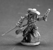 Captain Razig, Undead Pirate Miniature