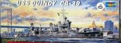 USS Quincy CA39 New Orleans Class Heavy Cruiser 1/700 Trumpeter