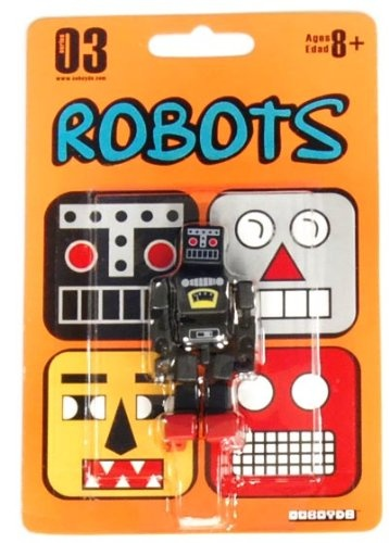 Cuboyds Series 03 Mini Super Articulated Action Figure Robots Cuboyd roK