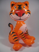 Tiger Zoo Animal Doll Inflatable Toys Balloon Blowup Party Decor Favour 60cm