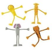 Zoo Animal Bendable Toys