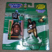 Ricky Williams New Orleans Saints Starting lineup