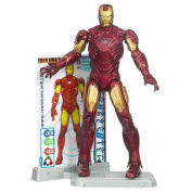 Marvel Iron Man 2 Movie 9.5cm Movie Series Iron Man Mark VI with Power-Up Glow Action Figure