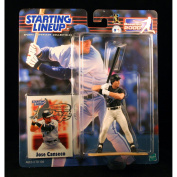 JOSE CANSECO / TAMPA BAY DEVIL RAYS 2000 MLB Starting Lineup Action Figure & Exclusive Collector Trading Card