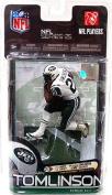 McFarlane Toys NFL Sports Picks Series 25 Action Figure LaDainian Tomlinson (New York Jets)White Jersey Variant