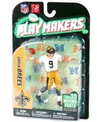 NFL New Orleans Saints McFarlane 2011 Playmakers Series 2 Extended Edition Drew Brees Action Figure