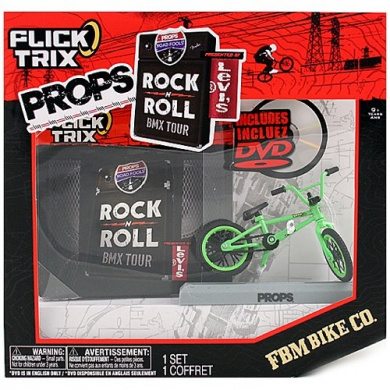 Flick Trix Props Rock N Roll Bmx Tour Fbm Bike Co By Flick Trix