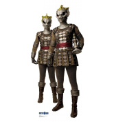 Advanced Graphics 1065 Cardboard Standup 2 Silurians - Doctor Who