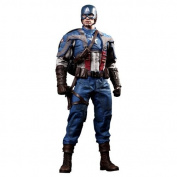 Captain America The First Avenger Hot Toys Movie Masterpiece 1/6 Scale Collectible Figure Captain America
