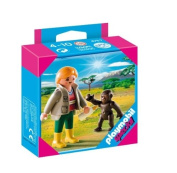 Playmobil Zookeeper With Baby Gorilla 4757