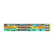 J.R. Moon Pencil Co. JRM52064B Race To Success Asst Pencils Dozen