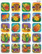 Teacher Created Resources 1806 Fall Stickers