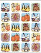 Teacher Created Resources TCR4766 Dm We Are Thankful Stickers