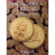 NEW HARRIS SACAGAWEA DOLLAR 2000-2004 COIN FOLDER 2715