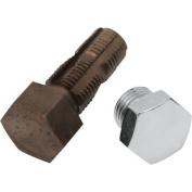 Colony Custom Oil Tank Drain Plug - Domed Hex Oversize - 1.4cm .-18 7503-1