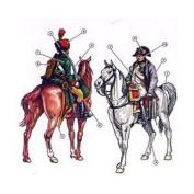 Italeri 1:72 Napoleon's General Staff
